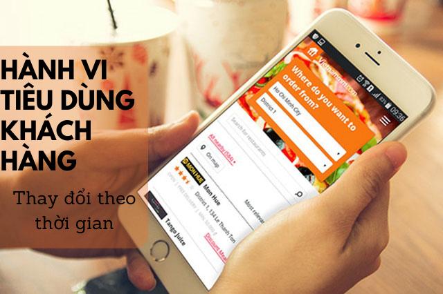 Sử dụng web, app đặt món, đặt bàn online
